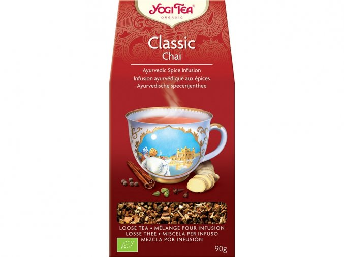 46512 bio classic chai sypany yogi tea 90 g