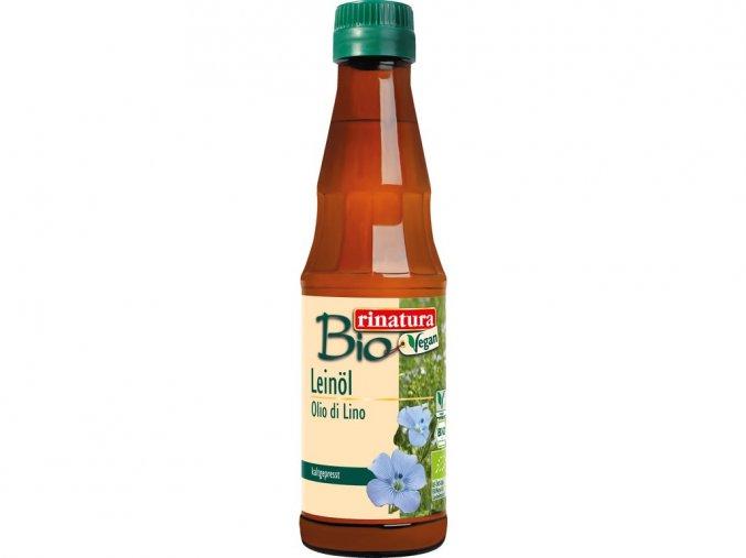 48258 bio lneny olej 250 ml za studena lisovany