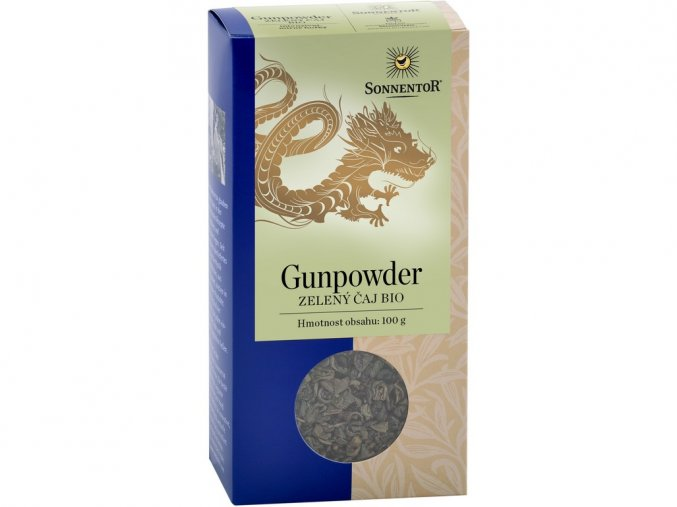 49182 bio zeleny caj gunpowder sypany 100g