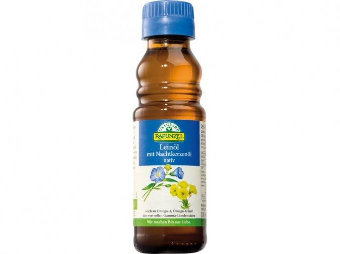 49464 bio lneny olej lisovany za studena s pupalkou 100ml
