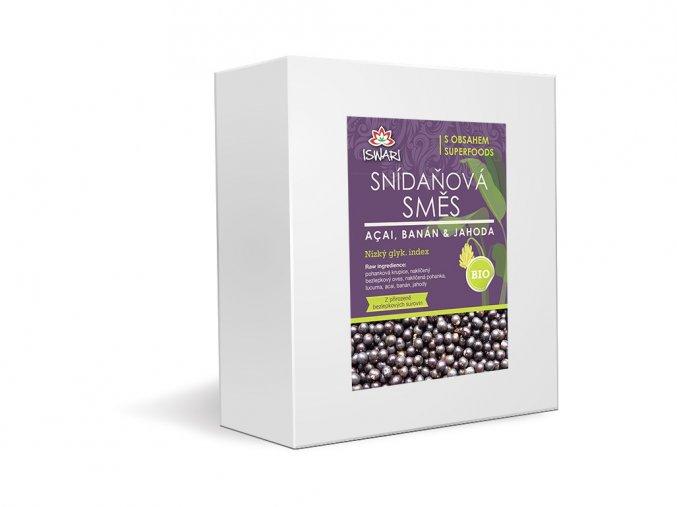 50514 bio snidanova smes acai banan jahoda family 3 2kg