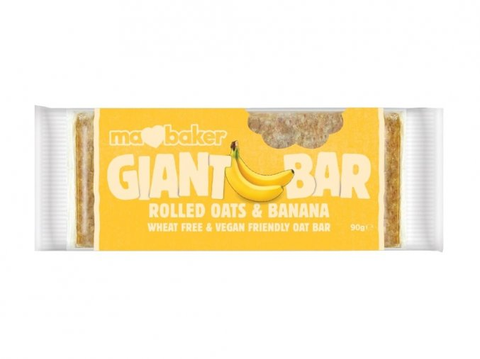 51216 tycinka ovesna giant bar obri bananova 90g