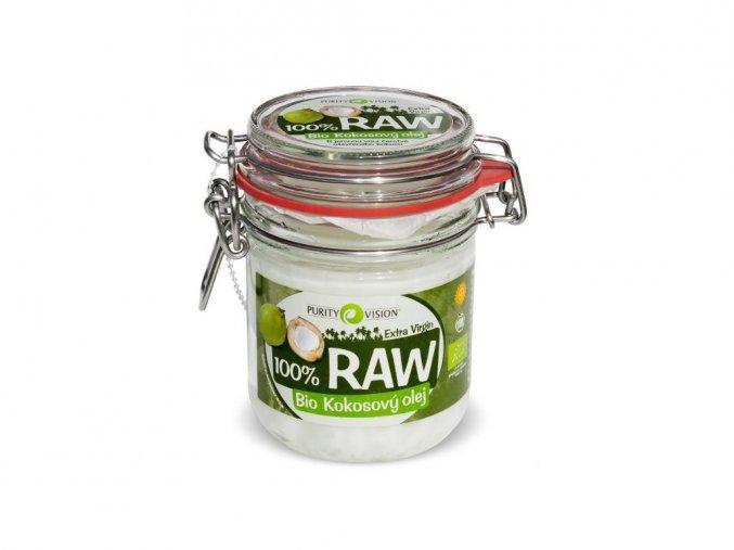 52113 bio 100 raw kokosovy olej 300ml