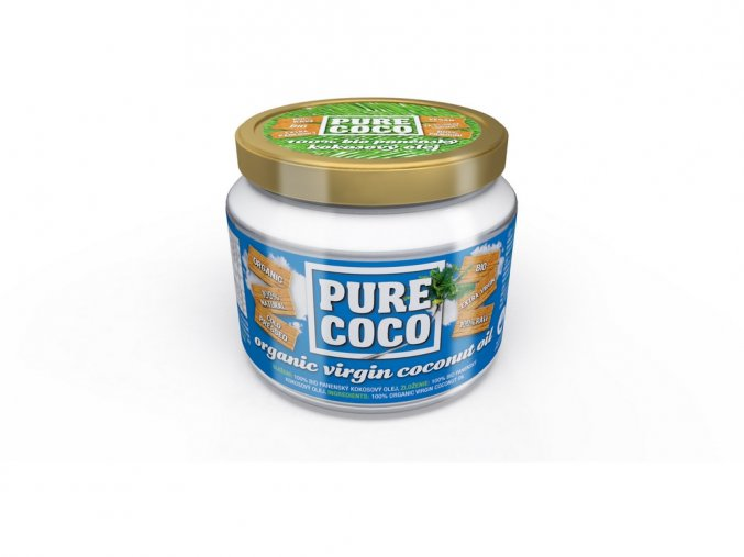 52371 bio panensky kokosovy olej 250ml pure coco