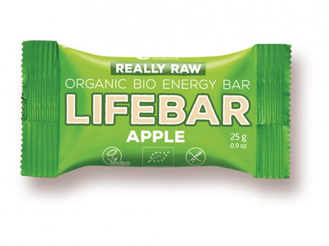 52911 bio tycinka lifebar jablecna raw 25g