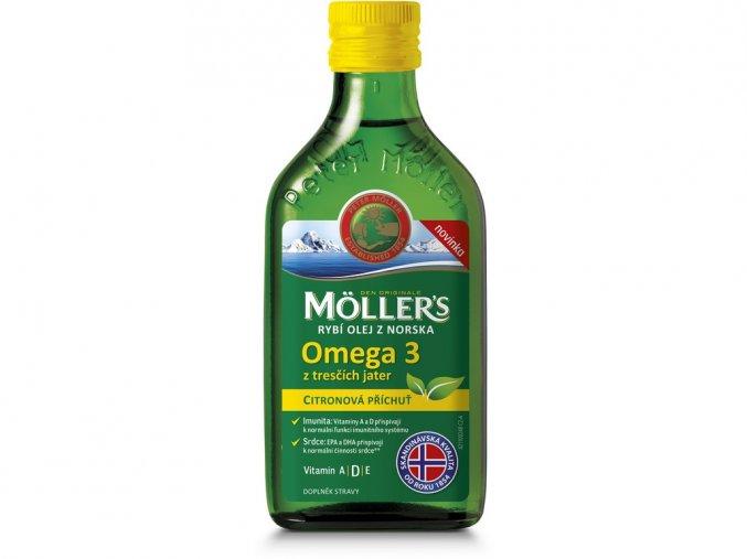 53457 moller s omega 3 rybi olej citron 250ml