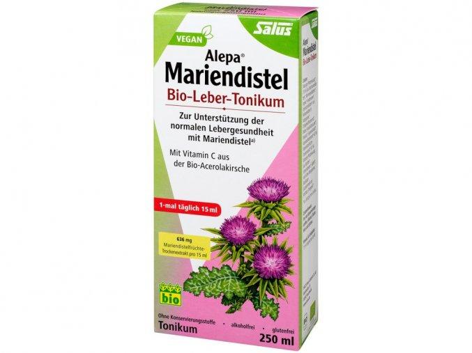 53820 bio bylinne tonikum ostropetrec mariansky pro zdrava jatra 250 ml