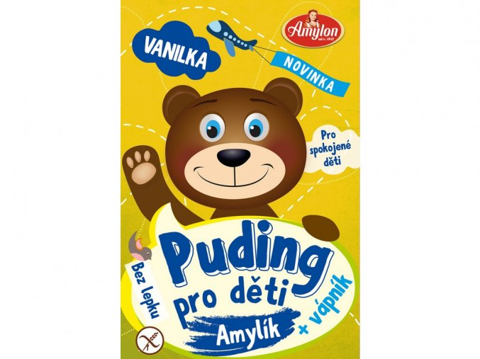 53931 puding vanilkovy pro deti amylon 40g bez lepku
