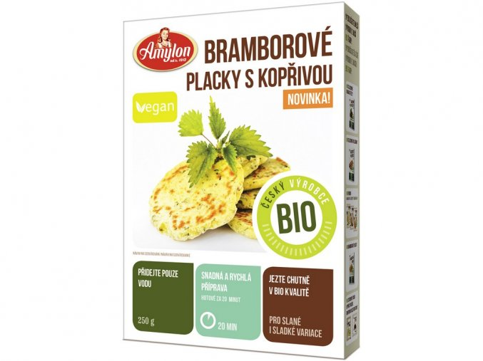 53940 bio bramborove placky s koprivou amylon 250g