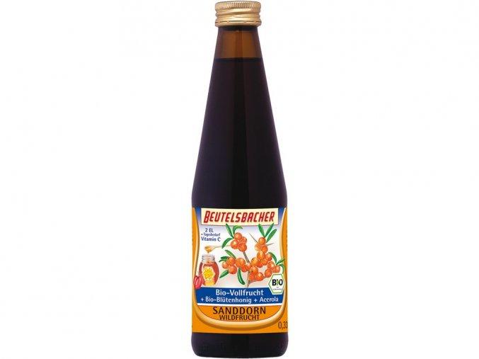 54375 bio rakytnikovy sirup s medem beutelsbacher 330 ml