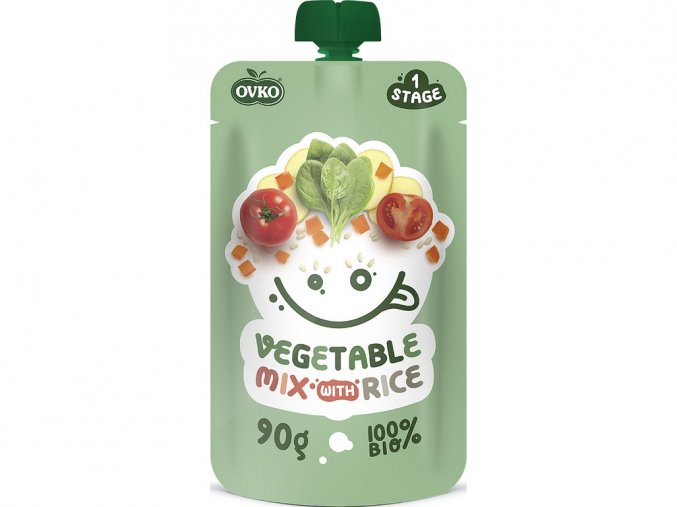 54579 bio kapsicka zeleninova smes s ryzi ovko 90g