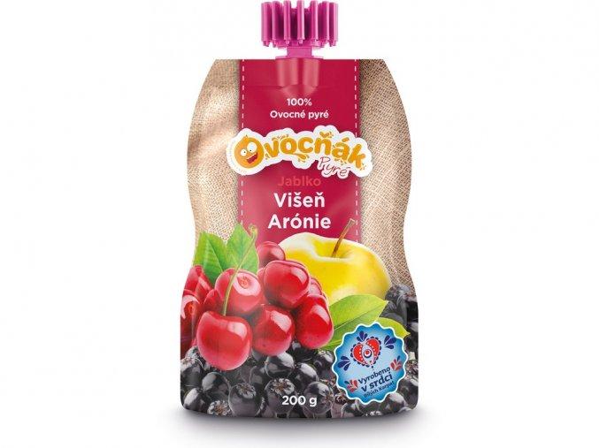 54606 1 ovocne pyre jablko visen aronie 200g