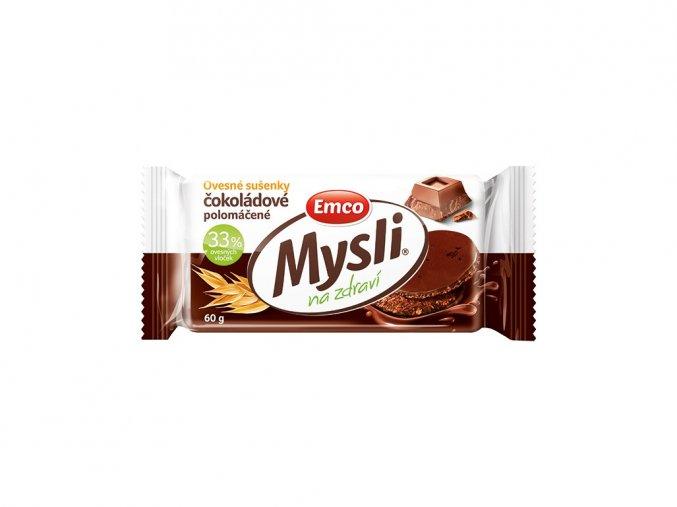 54867 mysli ovesne susenky cokoladove polomacene 60g