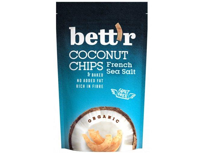 Bettr Kokos chips s mořskou solí BIO 70g