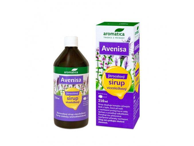 Avenisa jitrocelový sirup