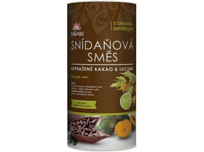 66183 bio snidanova smes neprazene kakao lucuma 800 g