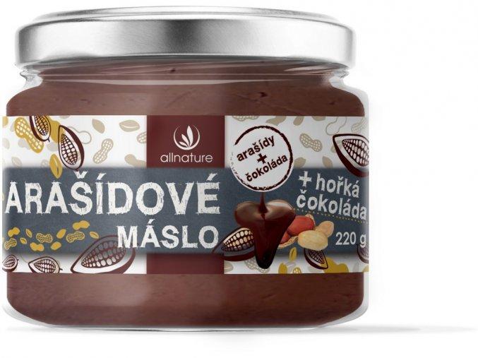 67065 arasidove maslo s horkou cokoladou 220g