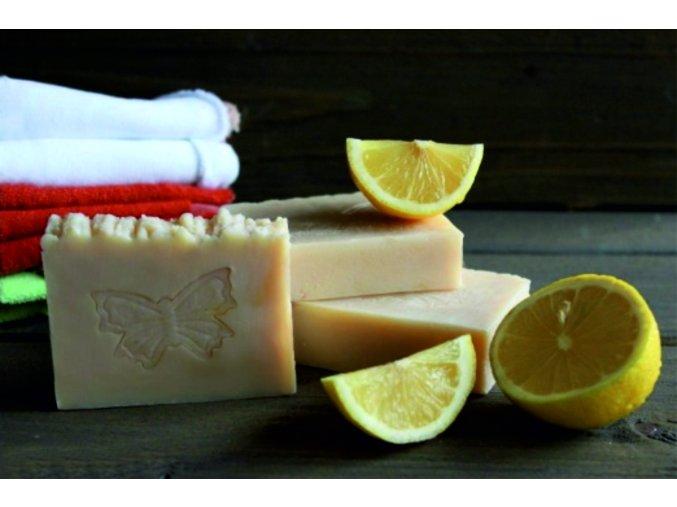 citronove mydlo
