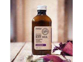 body milk lavender grande