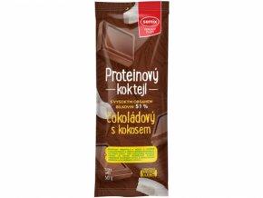 Proteinový koktejl s čokoládou a kokosem 30g