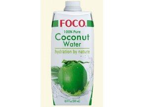 kokosova voda foco