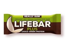 Lifebar plus čokoláda a konopný protein BIO 47 g