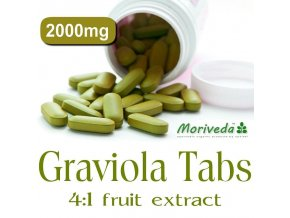 graviola 300 tabletten 1200mg vegan annona muricata 3x100 tabs
