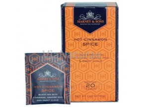 HARNEY AND SONS  - HOT CINNAMON SPICE 20 ks