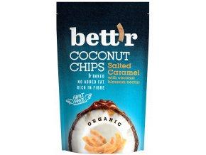 Bettr Kokos chips se slaným karamelem BIO 70g