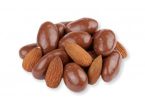 Mandle v mléčné čokoládě 3kg , VIA NATURAE