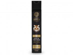 MEN Energizující šampon na vlasy a tělo 2 v 1 - Nezkrotnost tygra 250ml