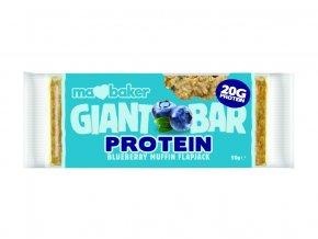 45621 proteinovy obri flapjack boruvkovy muffin 90g