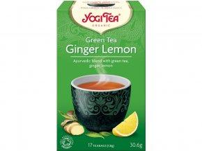 46596 bio zeleny caj zazvor citron yogi tea 17 x 1 8 g