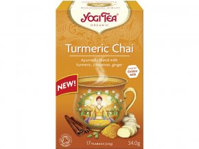 46605 bio turmeric chai yogi tea 17 x 2 g