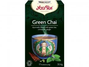 46608 bio zeleny chai yogi tea 17 x 1 8 g