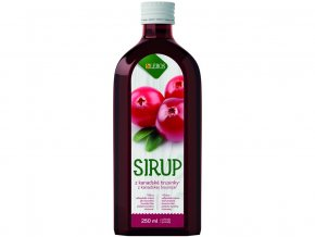 46836 sirup brusinka 250ml