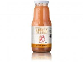 Jablko - mrkev 0,3l - 100% přírodní šťáva