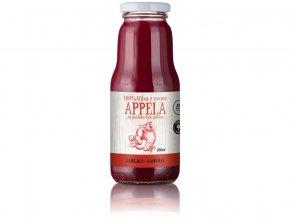 Jablko - jahoda 0,3l - 100% přírodní šťáva