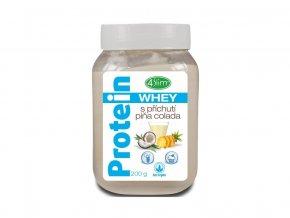 Whey protein s příchutí piňa colada 200 g