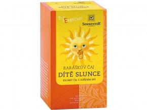 Bio Raráškův čaj - Dítě slunce - porc. bylinný čaj s kořením 30g (20sáčků)