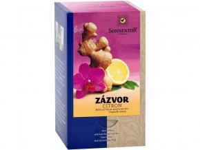 Bio Zázvor - citron čaj s kořením porc. dárkový 30g (20sáčků)