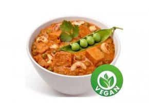 tofu matar paneer s hraskem