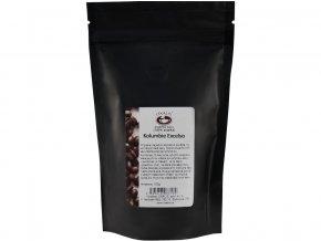 50283 kolumbie excelso 150 g zrnkova kava