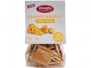 Bio Špaldové krekry se sýrem a slunečnicí 100 g