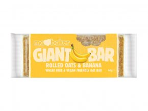 Tyčinka ovesná Giant bar Obří  Banánová 90g