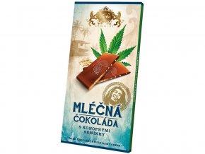 51645 mlecna cokolada s konopnym seminkem 80g
