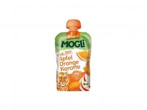 51996 bio ovocne pyre moothie jablko pomeranc mrkev bez cukru 100g