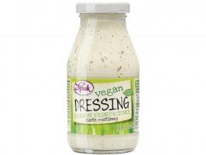52140 dressing vegan zahradni bylinky cesnek 200 ml