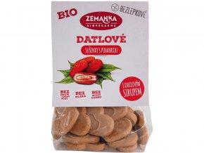 Bio Bezlepkové pohankovo - datlové sušenky 100g
