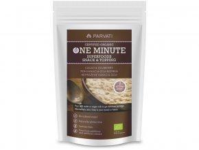 52671 bio snidanova smes one minute snack neprazene kakao goji 300g